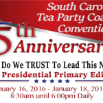January 19, 2016—SC Tea Party Coalition Convention Briefing.