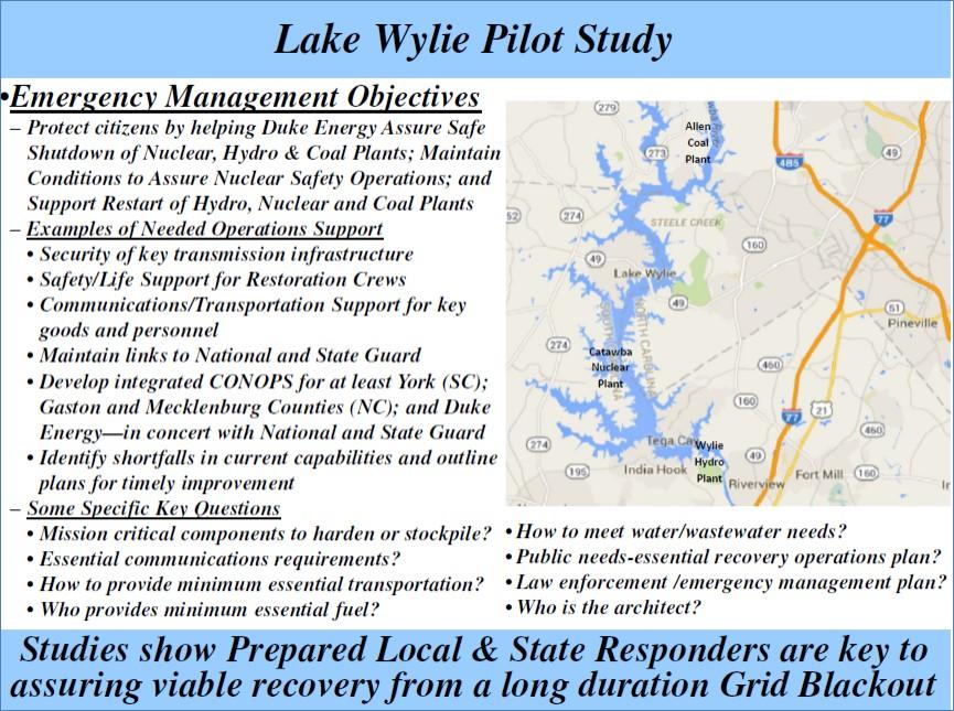 Lake Wylie Pilot Study